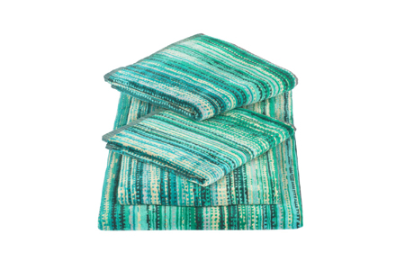 Green Grass Bath Sheet 100x150