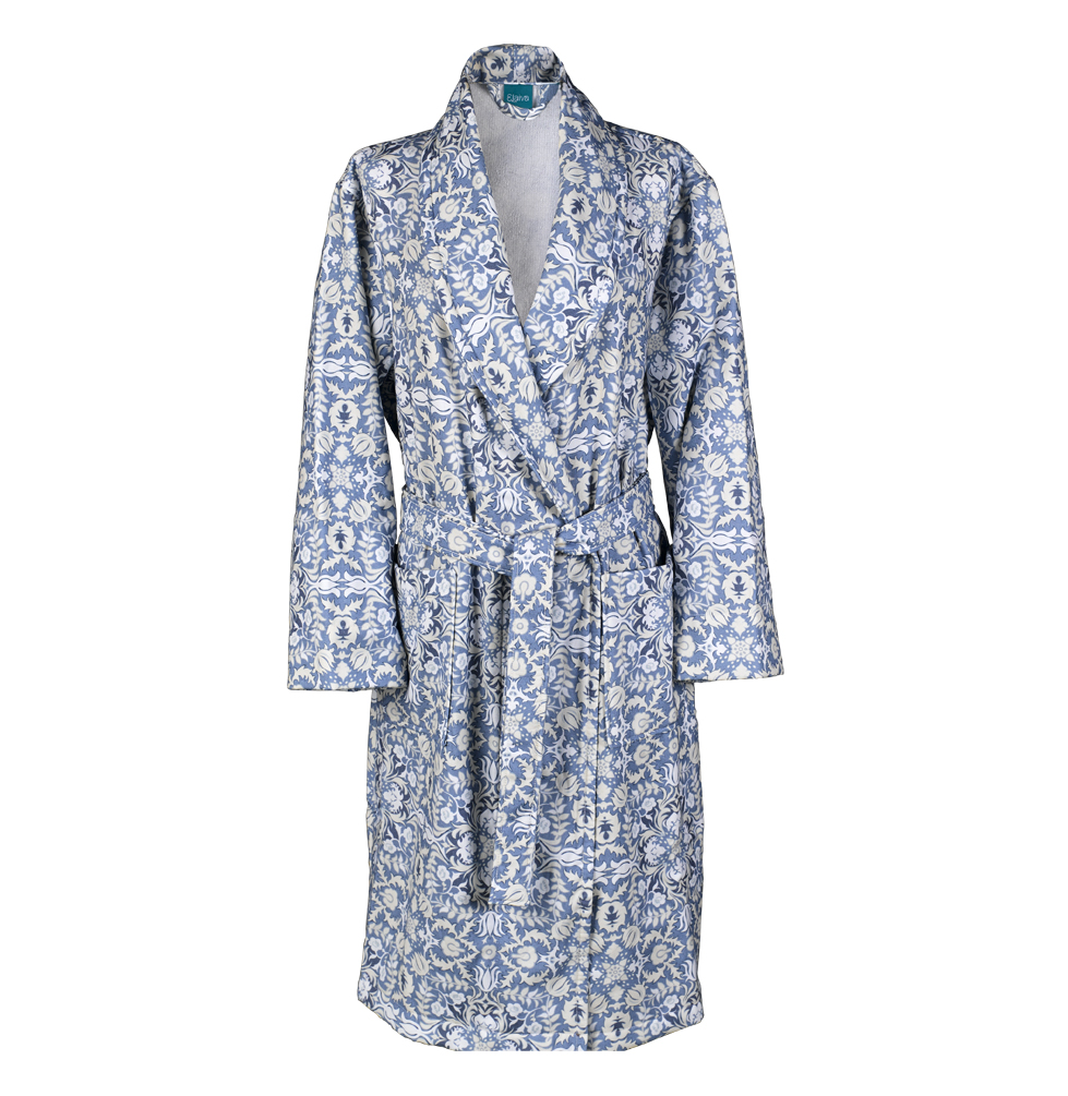 Alma Lightweight Terry Bath Robe (S)