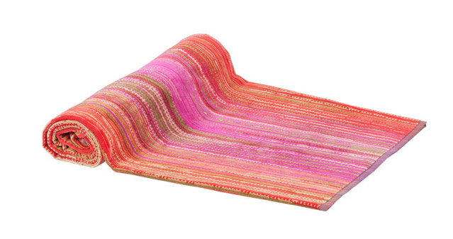 Beach Towel Pink Grass 100x180