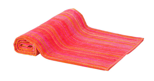 Beach Towel Orange Shadows 100x180