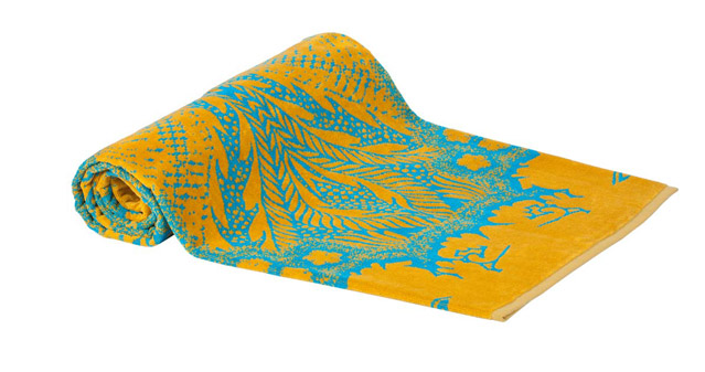Beach Towel Turquoise Orient Mistic 100x180