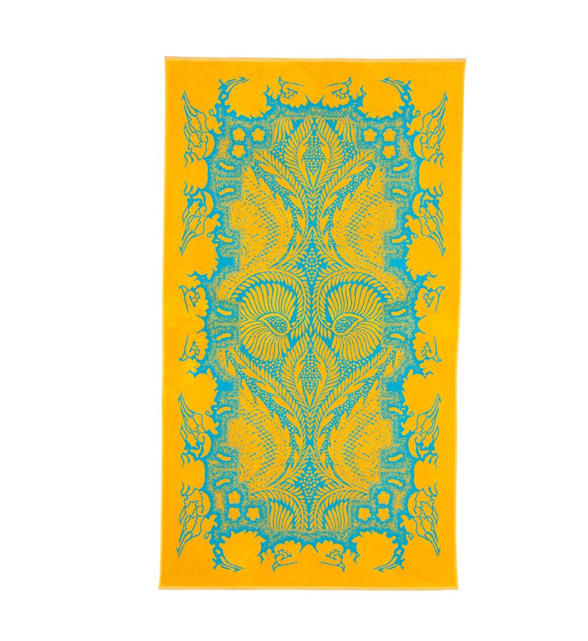 Beach Towel Turquoise Orient Mistic 100x180