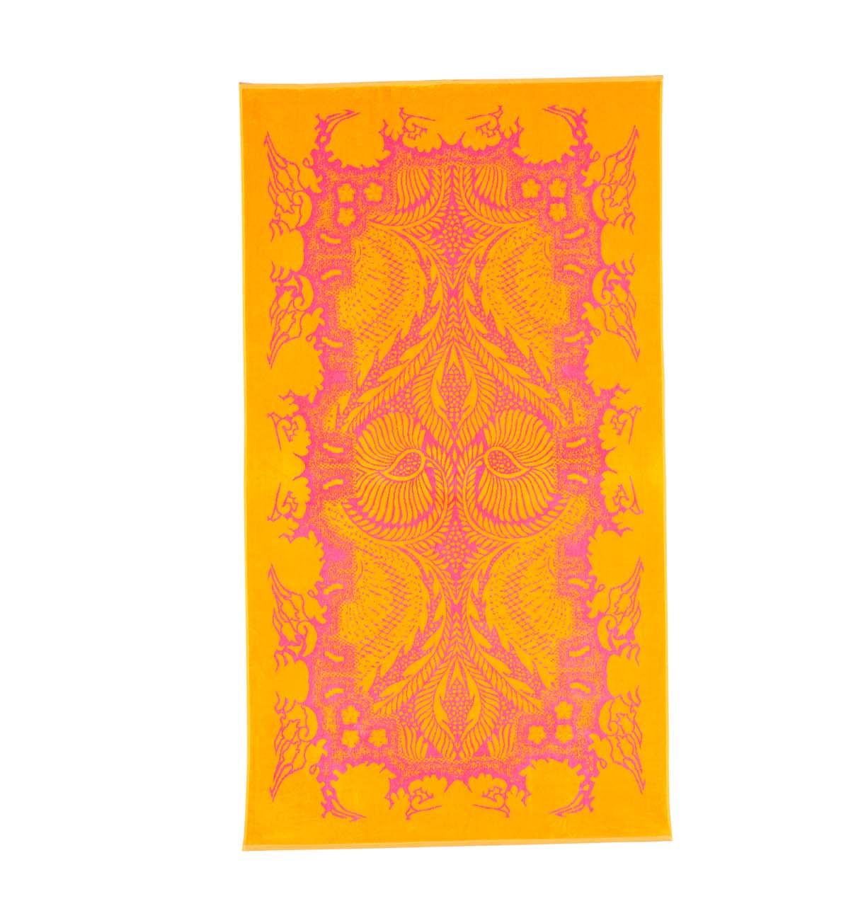 Beach Towel Fuchsia Orient Mistic 100x180