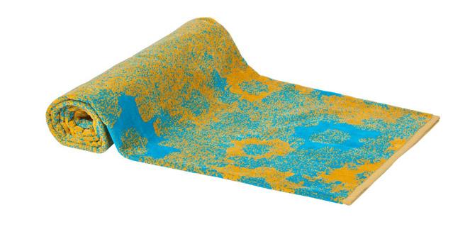 Beach Towel Turquoise Ocean Garden 100x180