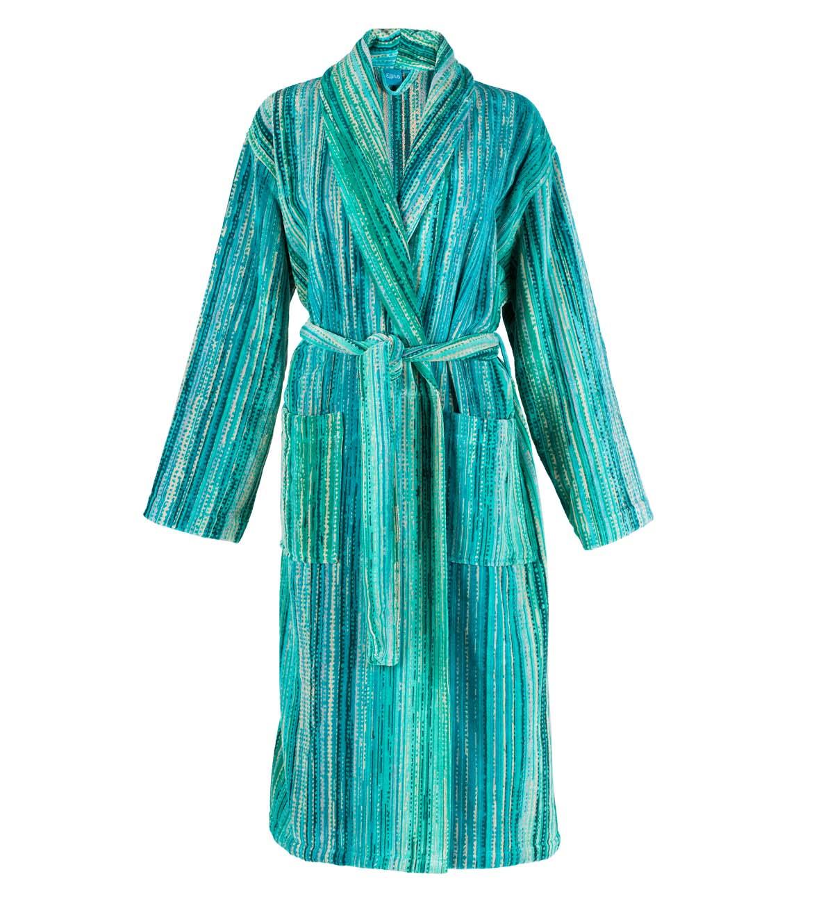 Green Grass Collar Bath Robe (S)