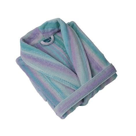 Blue Smoky Mountain Collar Bath Robe (M)