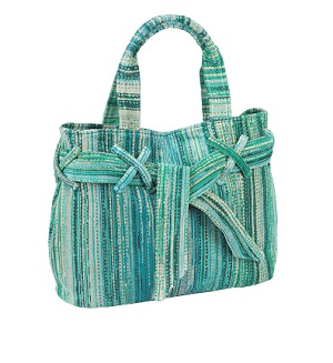 Green Grass Beach Bow Bag