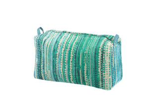 Green Grass Toilet Bag