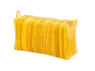 Yellow Shadows Toilet Bag