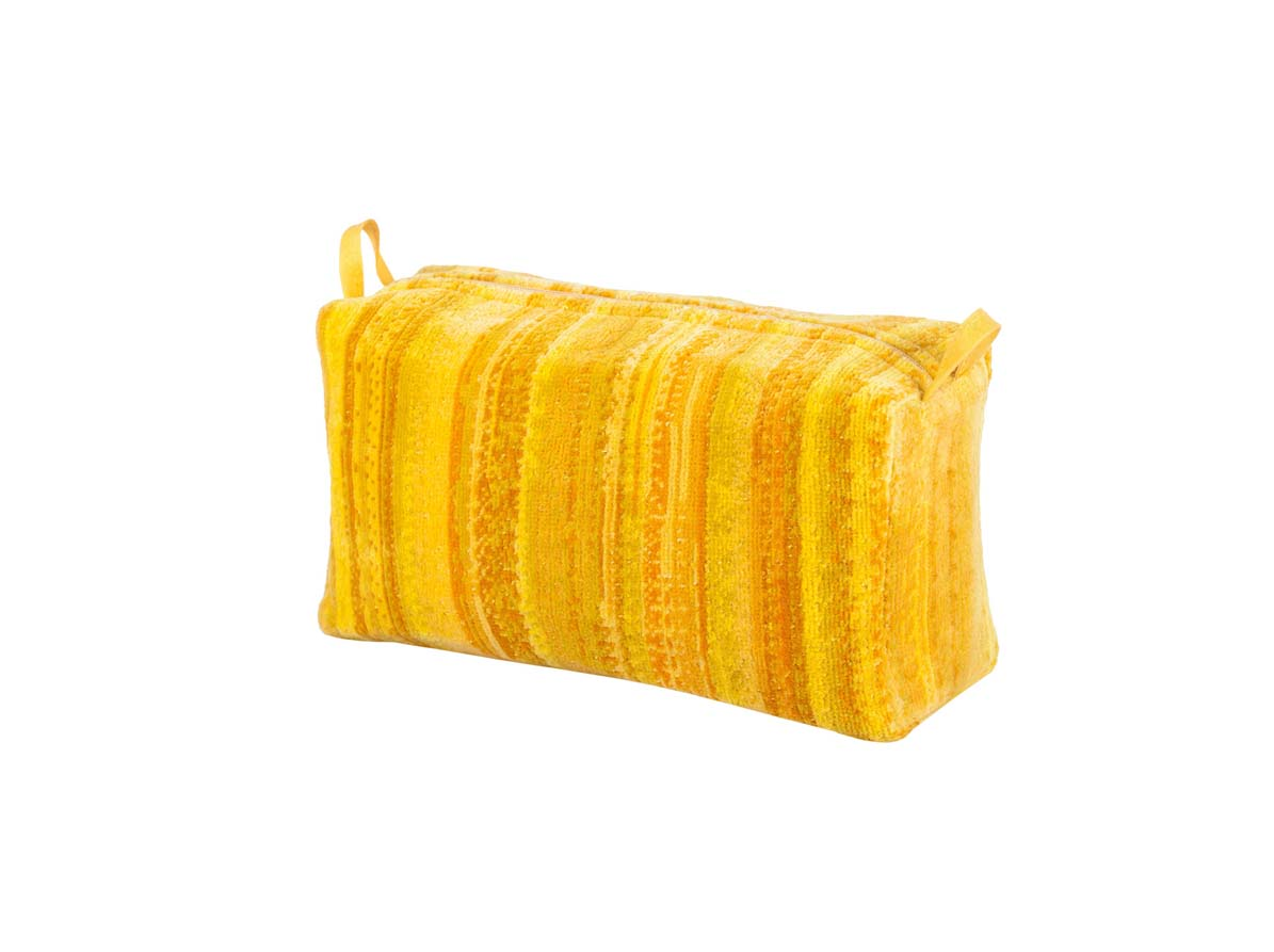 Yellow Shadows Toilet Bag