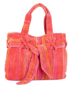 Orange Shadows Beach Bow Bag