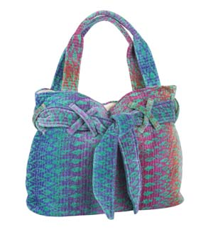Green Ocean Magic Beach Bow Bag